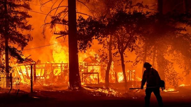 Foto - Bu durumda büyük orman yangınları, yüksek sıcaklık şiddetli kuraklık ve sel baskınlarını kaçınılmaz kılıyor.