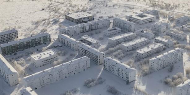 Böylesi görülmedi... Kar ve buzla kaplandığı için hayalet şehre dönen bölge boşaltıldı