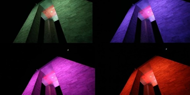 Çanakkale Şehitler Abidesi yeni renkleriyle bir başka güzel