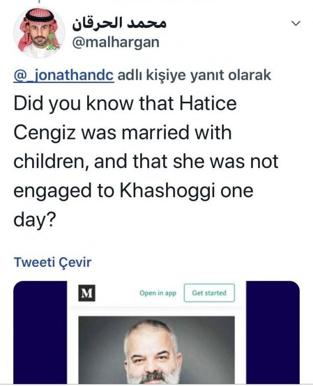 Foto - Tweet atanlar,ilerleyen zamanda,oyuncu Deniz Oral'ın elinde Türk Bayrağı ve Mehmetçik'in yaptığı sınır ötesi operasyonlar sırasındaki ziyaretinin fotoğraflarını ekleyerek, Hatice Cengiz'in kocası Erdoğan taraftarı şeklinde manipülasyon yaptı.