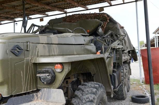 Cepheden kaçan Ermeni ordusuna ait askeri araçlar ilk kez görüntülendi -  Fotoğraf 3
