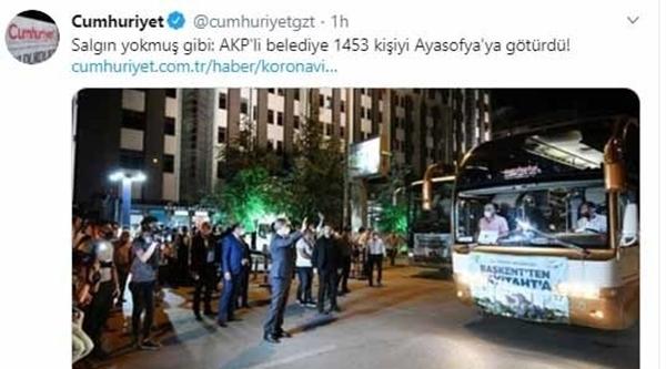 Foto - Plajlarda, partilerde meydana gelen kalabalık görüntülere aldırış etmeyen CHP medyası, sosyal mesafe kuralları dikkate alınarak gerçekleştirilen tarihi açılışa ilişkin operasyonel haberlere imza attı.