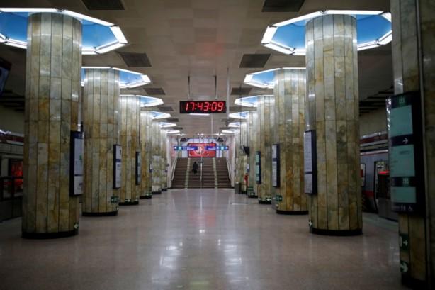 Foto - Çin'in en kalabalık metroları,