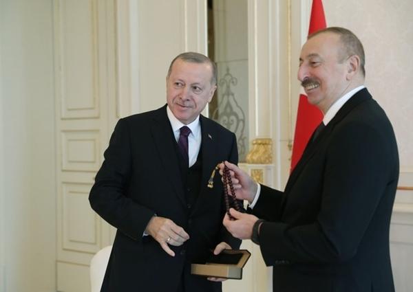 Foto - Cumhurbaşkanı Erdoğan, Türkiye-Azerbaycan Yüksek Düzeyli Stratejik İşbirliği Konseyinin 8'inci toplantısı için bugün Azerbaycan'a resmi ziyaret gerçekleştiriyor.