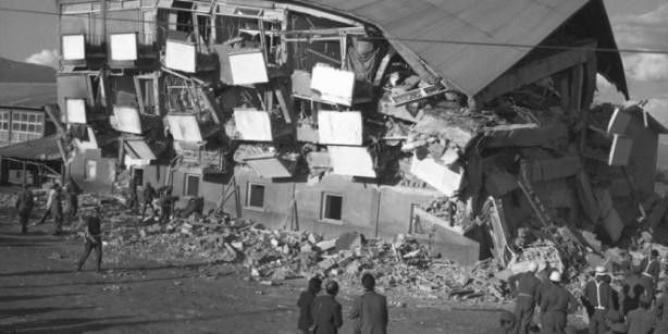 Foto - Erbaa Depremi (1942) - 7.0 20 Aralık 1942'de Tokat / Erbaa merkezli gerçekleşen 7.0 şiddetindeki depremde 3 bin kişi hayatını kaybetti.