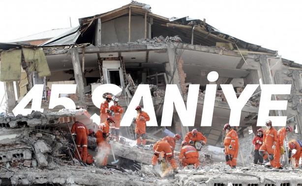 Foto - Gölcük Depremi (1999) - 7.4 17 Ağustos 1999'de İzmit'de meydana gelen 7.4 şiddetindeki depremde 17118 kişi hayatını kaybetti.