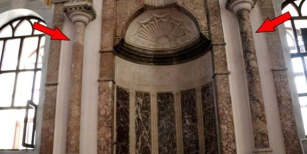 Denge sütunundaki sır...Yıldırım Bayezit'in emaneti tam 683 yıldır dönüyor