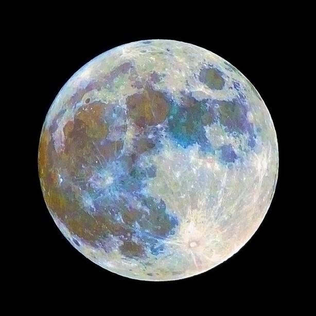 Foto - MAVİ DOLUNAY NEDİR? - Mavi Ay, gök bilimcileri tarafından, bir takvim ayında yaşanan ikinci Dolunay olarak tanımlanan nadir bir doğa olayı olarak nitelendiriliyor.