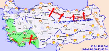 Foto - ÇATI UÇMASI VE ZEHİRLENME RİSKİ Bugün beş büyük kentte sağanak geçişleri yaşandı. Bu kentlerde lodos nedeniyle çeşitli olumsuzlukların yaşanması ile ilgili riskler ise sürüyor. Özellikle İstanbul, İzmir ve Bursa'da lodos fırtına hızına çıkacak.