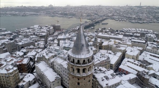 Foto - Perşembe günü ise Akdeniz bölgesinin bir bölümü hariç yurdun tamamında kar ve karla karışık yağmur görülecek.