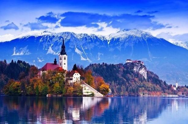 46 SLOVENYA<br>Dindar bir insanım: 41% Dindar değilim: 25% Ateistim: 28% Yanıt yok: 6%