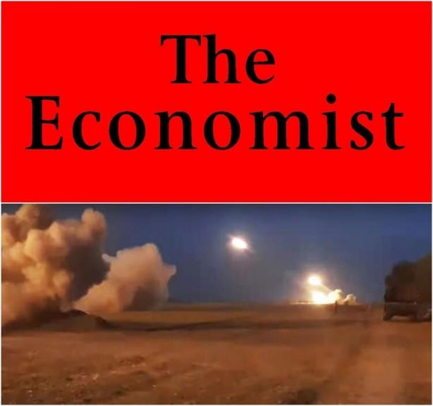 Foto - Dünya medyası, Dağlık Karabağ savaşını manşetten veriyor. The Economist'e göre, tarihsel olarak karışık bölgede devam eden çatışma, korku ve endişeyle besleniyor. Dergi, Dağlık Karabağ'ı pek çok kişinin 'haritalayamayabileceğini' ancak bölgenin 'dünyanın unutulmuş bir bölümünde' geniş kapsamlı sonuçları olabilecek bir çatışma tehdidi oluşturduğunu yazdı. The Economist, önceki liderlerin aksine Ermenistan'ın şu anki 'popülist' Başbakanı Nikol Paşinyan'ın Dağlık Karabağ krizinde kışkırtıcı bir söylem koymaya çalıştığını belirtiyor.