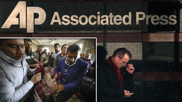 Foto - Amerikan Associated Press (AP) haber ajansı, Berde kentine bağlı Karayusuflu köyünü hedef alan saldırıda yaşamını yitiren 7 yaşındaki Aysu İskenderova'nın cenazesini fotoğrafladı. Birleşmiş Milletler (BM), 27 Eylül tarihinden bu yana süren çatışmalarda 130 binden fazla insanın evlerini terk etmek zorunda kaldığını açıkladı, sivilleri hedef alan saldırıları kınadı.