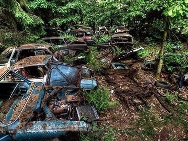 Dünyanın En Büyük Araba Mezarlığı Hikayesi çok Ilginç Fotoğraf 17