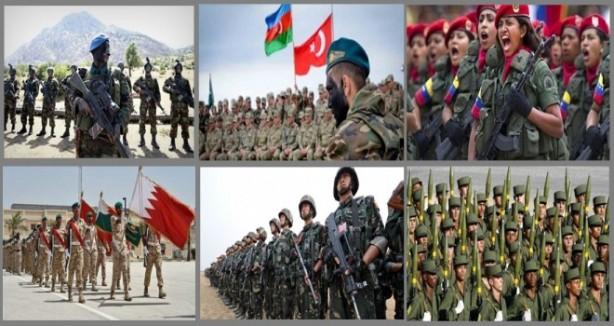 Dünyanın en güçlü orduları arasında Azerbaycan ve Ermenistan kaçıncı sırada?