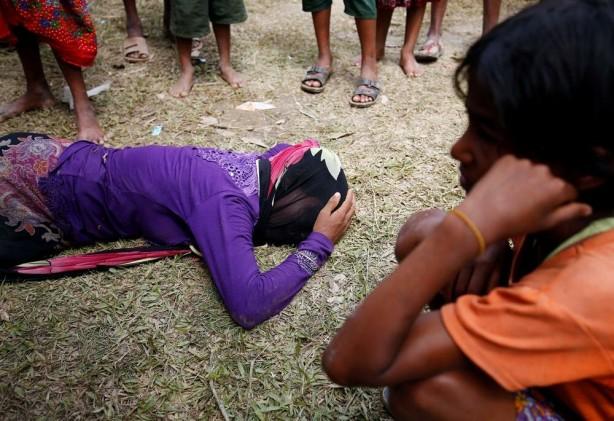 Foto - Tun, 30 Arakanlı Müslüman'ın katledilmesinde ve toplu mezarlara gömülmesinde rol aldığını söyledi.