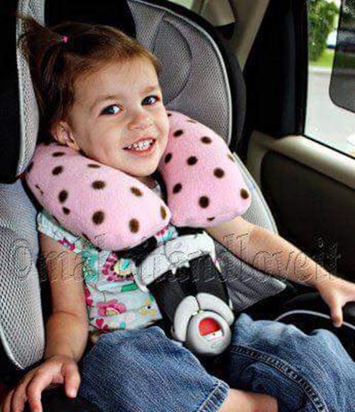 Подушка в машину ребенку своими руками 89