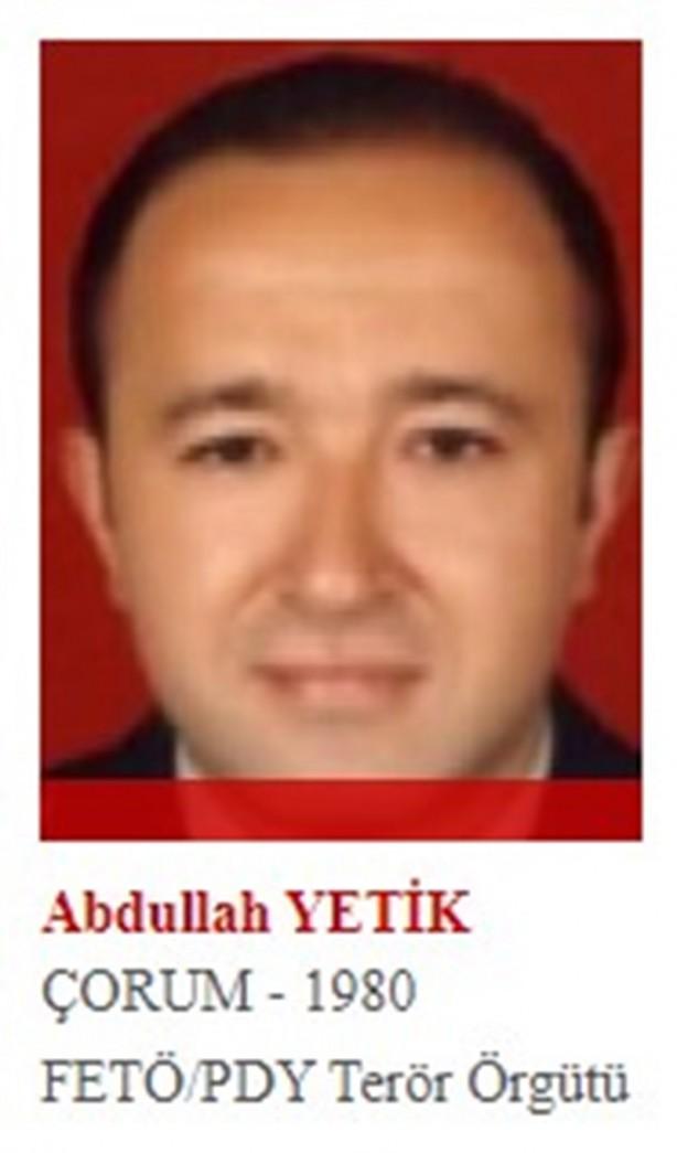 Foto - FETÖ'nün askeri kanadında yer alan ve pilot yüzbaşı olan Abdullah Yetik, 15 Temmuz'da yaptıkları darbe girişiminin başarısız olması üzerine Hava Kuvvetlerine ait Skorsky helikopterle Yunanistan'a firar etti.