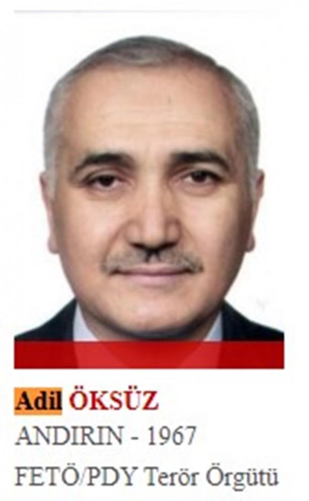 Foto - FETÖ'nün eski Hava Kuvvetleri Komutanı olup daha sonra Türk Silahlı Kuvvetleri imamı olan ve Gülen'in sır kutusu olarak anılan Adil Öksüz, Gülen'in talimatıyla 2015 seçimlerinin ardından darbe girişimi planlamaya başladı. O günden 15 Temmuz 2016'ya kadar 12 kez darbe girişimi için toplantı yapan Öksüz, her bir toplantının ardından ABD'ye gidip Gülen'e rapor verdi. Hain darbe girişimi sırasında Akıncı Üssü yakınlarında jandarma ekipleri tarafından yakalanan şahıs, savcılık sorgusunda tarla bakmak için orada bulunduğunu ileri sürdü. Tutuklanma talebiyle mahkemeye sevk edildiyse de serbest bırakıldı. Bunu fırsat bilen Öksüz, ortadan kayboldu.