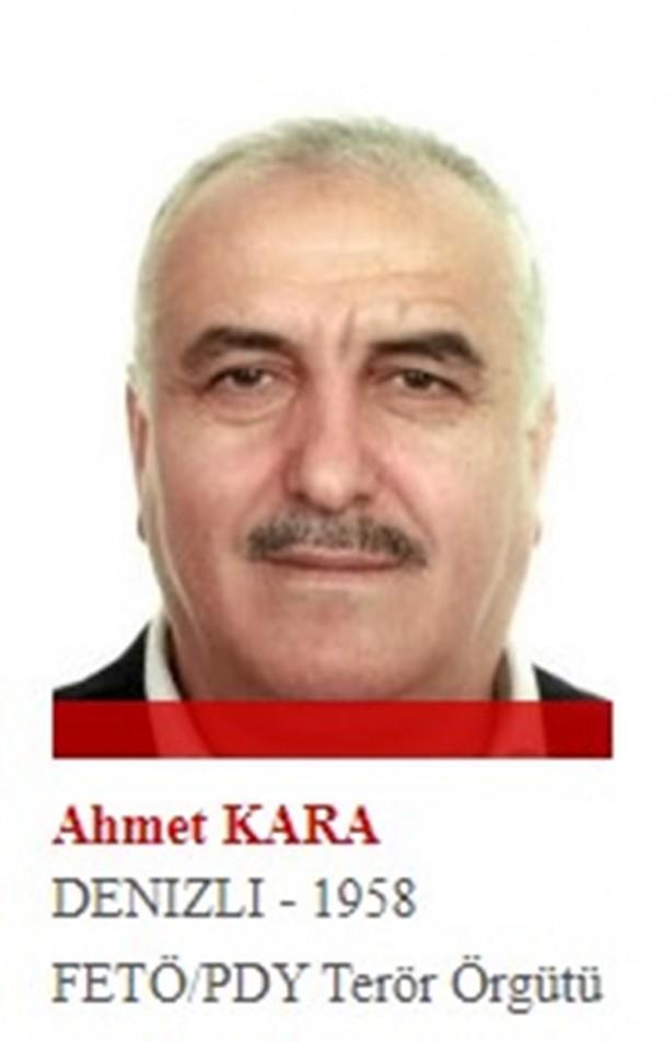 Foto - Normal hayatında esnaf olduğu bilinen Ahmet Kara, örgütün yargı imamlarından. 8 Ağustos 2014'de yurt dışına kaçtı.