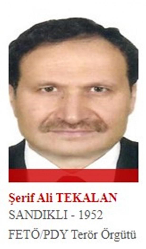 Foto - Fatih Üniversitesi'nin kurucusu ve rektör olan Tekalan, örgütün üst düzey yöneticilerindendi. Son Türkiye imamı olduğu sanılıyor. 24 Ekim 2015'te yurt dışına kaçtı.