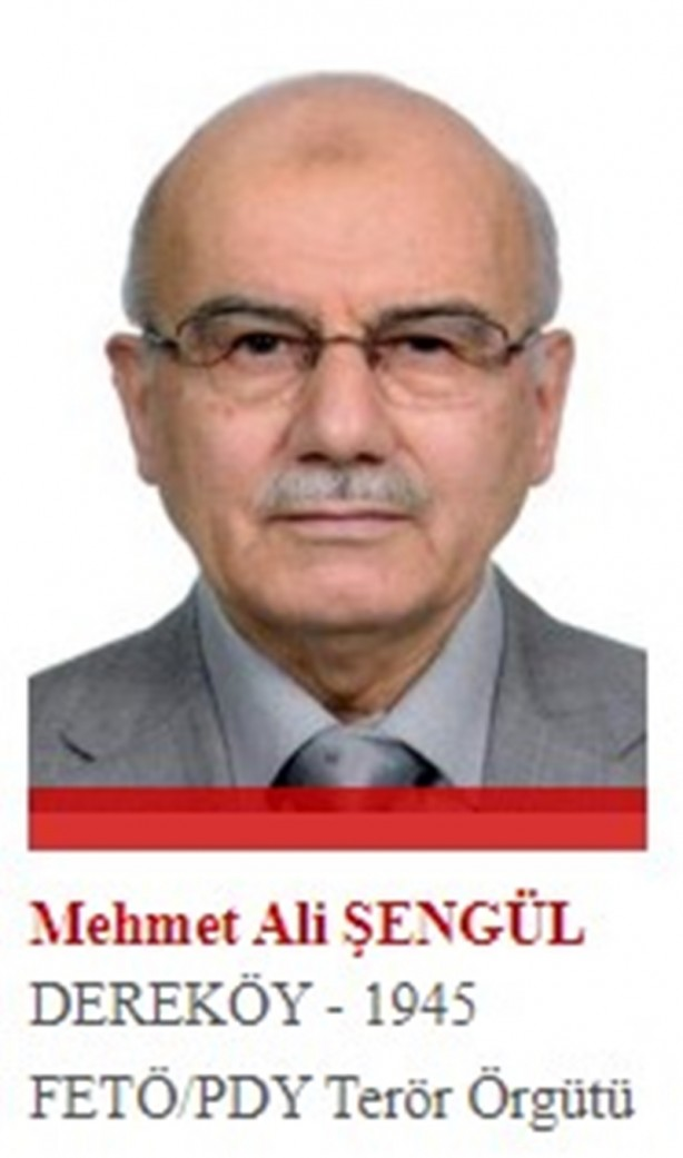Foto - FETÖ'ye en yakın ekip içinde yer alan ve Fetullah Gülen'den sonra örgütün başına gelebilecek isimler arasında gösterilen Şengül, örgütün 12 imamından biri. 28 Ağustos 2015'te yurt dışına kaçtı.