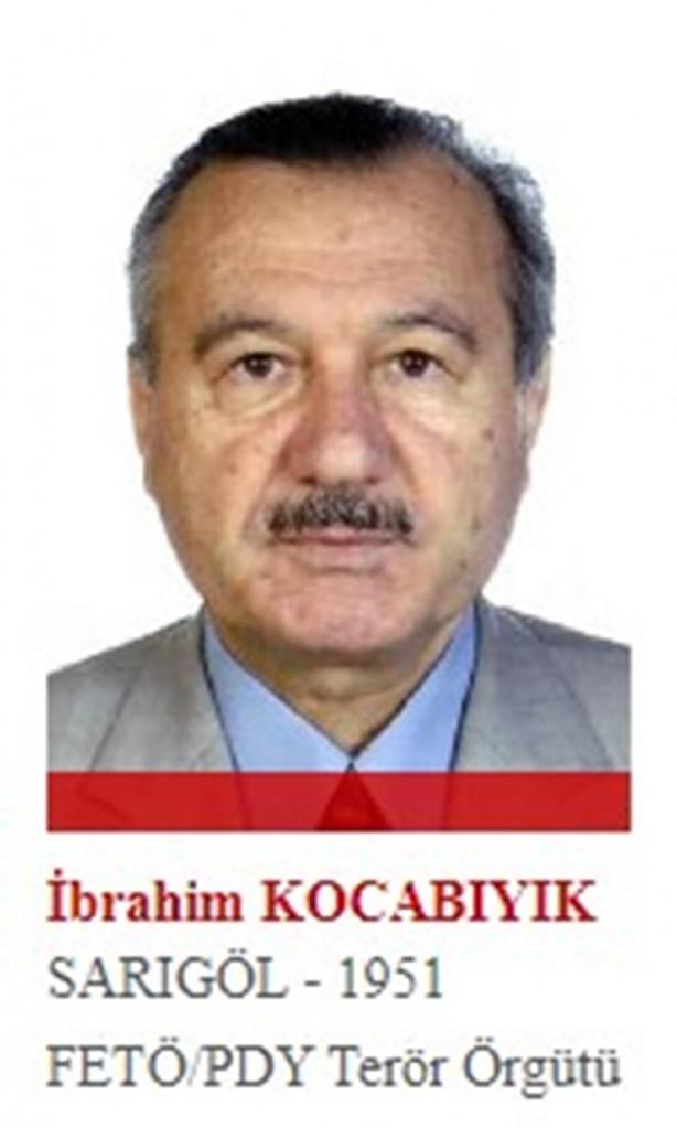 Foto - Fetullah Gülen'in ilk talebelerinden ve örgütün genel yetkililerinden olan Kocabıyık, Gülen'e bağlılığı ile tanınıyor. Örgüt içinde denetmenlik ve müfettişlik yaptı. 4 Ekim 2015'te yurt dışına kaçtı.