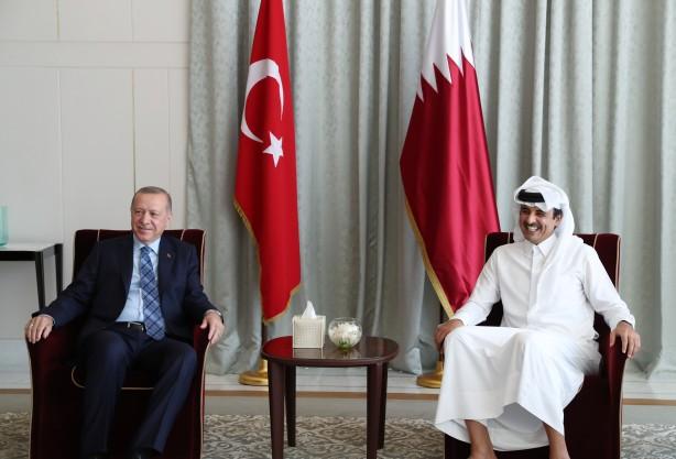 Başkan Erdoğan'ın Katar ziyareti sonrası çılgına döndüler