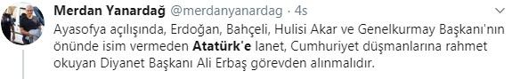 Foto - Osmanlı Devleti'nin 34. padişahı olan Abdülhamid Han'a küstahça hakaretlerde bulunan TELE1'in Genel Yayın Yönetmeni Dr. Merdan Yanardağ,