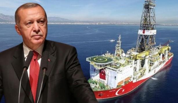 Foto - Cumhurbaşkanı Erdoğan, 17 Ekim'de, Karadeniz'de Tuna-1 lokasyonunda 85 milyar metreküp daha doğal gaz keşfedildiğini, böylece toplam doğal gaz rezervi miktarının 405 milyar metreküpü bulduğunu açıkladı.