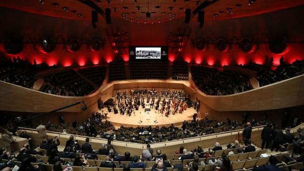 Foto - Dünya metropollerinin sayılı müzik merkezlerinden biri olacak Cumhurbaşkanlığı Senfoni Orkestrası yeni binası Türkiye Cumhurbaşkanı Recep Tayyip Erdoğan'ın katılımıyla 3 Aralık'ta açıldı.