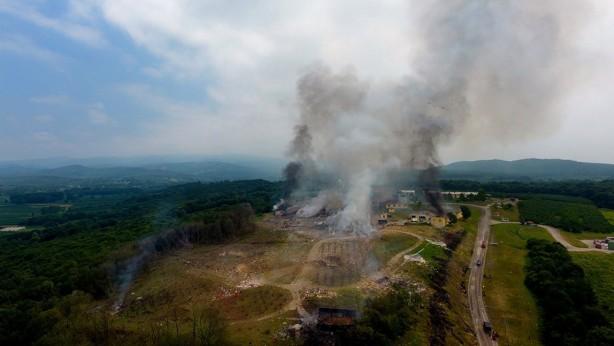 Foto - Sakarya'nın Hendek ilçesindeki havai fişek fabrikasında 3 Temmuz'da patlama meydana geldi, 7 kişi hayatını kaybetti.