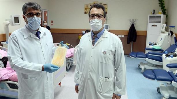 Foto - İnönü Üniversitesi, 6 Nisan'da Kovid-19'a karşı immün plazma yöntemiyle tedaviye başladı.