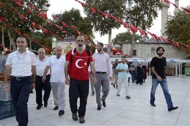FETÖ'yü Ankara'ya yürüyerek protesto edecek