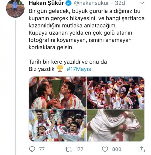 Foto - Hakan Şükür,