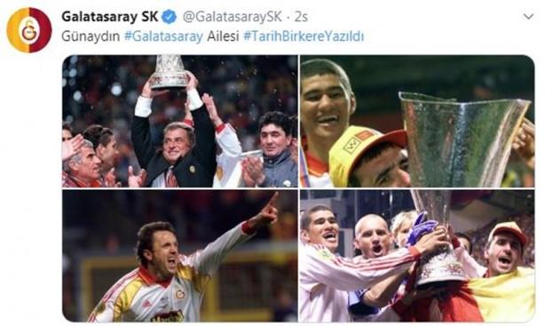 Foto - FETÖ firarisi eski Galatasaraylı futbolcu Hakan Şükür, 17 Mayıs'ta Galatasaray'ın paylaştığı UEFA Kupası sevinç fotoğraflarının içinde olmaması sonrası küplere bindi.