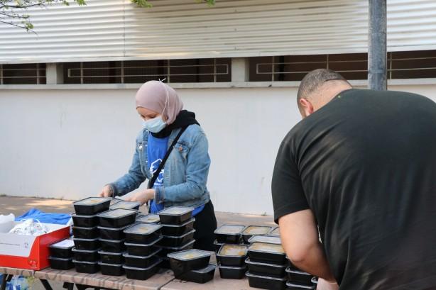 Fransa'da Müslüman öğrenciler Ramazan bereketini paylaştı
