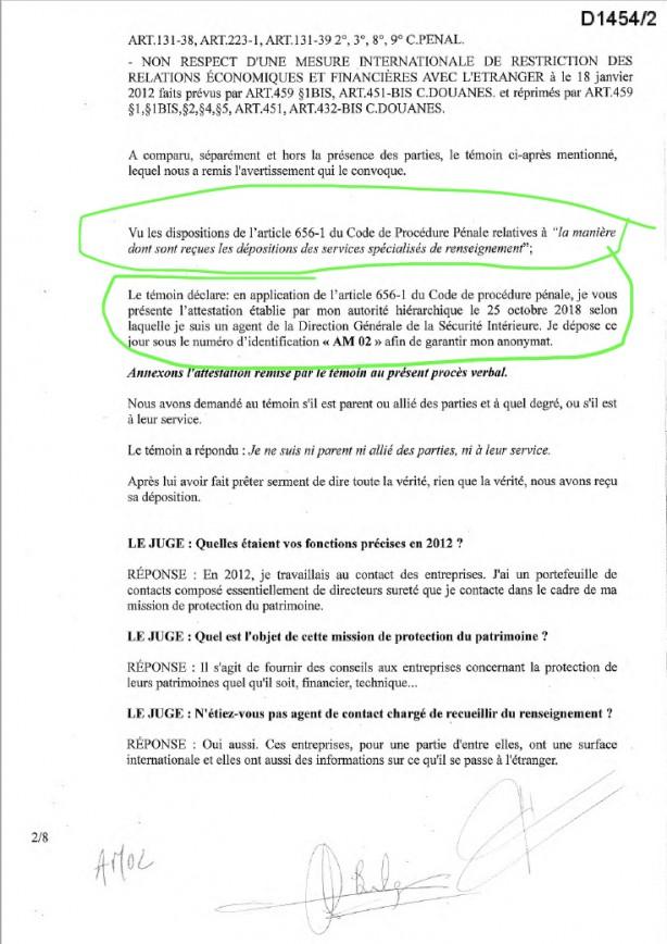 Foto - Lafarge'a yanıt veren istihbarat servisi görevlisi bu durumu görüşecekleri bir tarihi kendisine bildirdi. Lafarge-terör örgütü ilişkilerinin skandal olarak Fransa gündemine gelmesi ve konunun mahkemeye yansımasının ardından 18 Kasım 2018'de AM 02 kod isimli istihbarat mensubu, mahkemede ifade verdi.