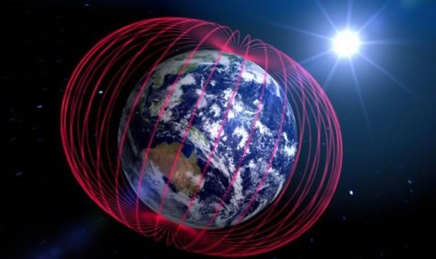 ünkü manyetik alan Güneş'in zararlı radyasyonlarına karşı bir kalkan görevi görür.