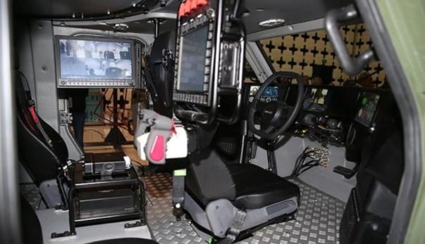 Foto - Serdar Görgüç, birikim ve ileri teknoloji kullanarak, 'Akrep II'yi geliştirdiklerini belirtip,
