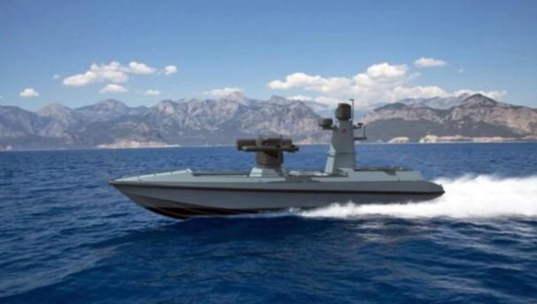 Foto - TÜRKİYE'NİN İLK SİLAHLI İNSANSIZ DENİZ ARACI Ares Tersanesi ve Meteksan Savunma, Türkiye'nin ilk silahlı insansız deniz aracını (SİDA) geliştirdi. İki şirketin birkaç yıldır devam eden araştırma geliştirme faaliyetleri sonunda ortaya çıkan ULAQ serisinin ilk ürünü olan SİDA'nın prototip üretimi aralık ayında tamamlanacak.