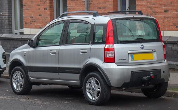 Foto - Fiat Panda 2005 model