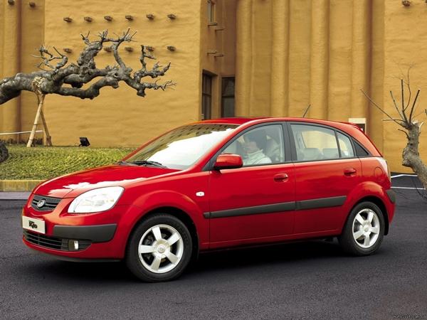 Foto - KIA Rio 2006 model