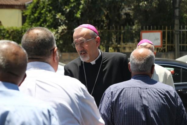 Hristiyan din adamlarından Filistinlilere destek