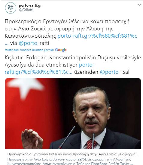 Foto - Başkan Erdoğan'ın açıklaması Yunanistan'ı salladı.
