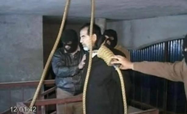 saddam hüseyin idam ile ilgili görsel sonucu