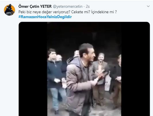 Foto - Böçkün'ün akıl hastanesine kapatılmasının ardından sosyal medya üzerinden tepkiler çığ gibi büyüdü. Böçkün için Twitter üzerinden RamazanHocaYalnizDegildir etikieti açıldı. Etikete 200 bini aşkın tweet atıldı. Siyaset ve akademi camiasından ise büyük tepki geldi.
