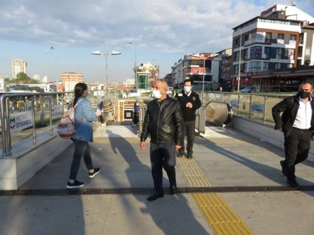 Foto - Üsküdar-Çekmeköy hattındaki arıza nedeniyle İmam Hatip Lisesi-Çekmeköy istasyonları arasında hizmet verilmedi. Metroya binmek isteyen bir vatandaş yaptığı açıklamada