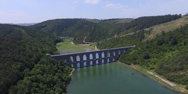 İstanbul'un önemli su kaynaklarından biri olan Alibeyköy Barajı'nda tedirgin eden olay!
