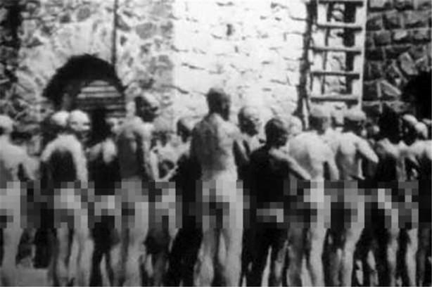 Фото людей в концлагере дахау голых женщин